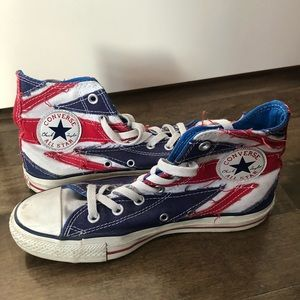 Converse x The Who Union Jack High Tops